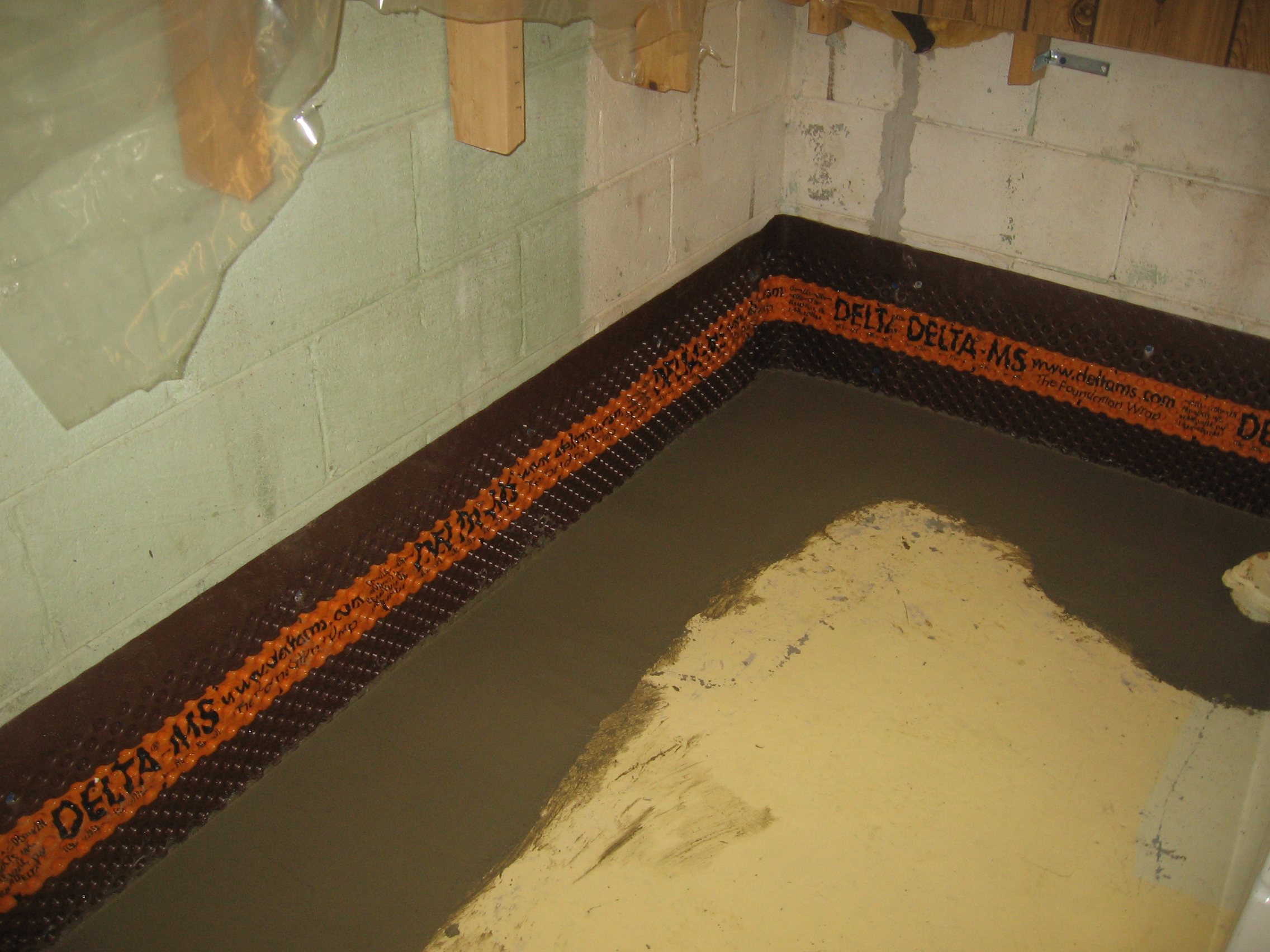 Incroyable There You Have It. A Basement Waterproofing ...